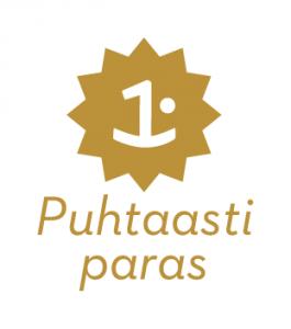 Puhtaastiparas logo