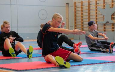 nuoria urheilijoita
